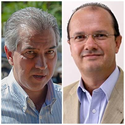 Deputado federal Reinaldo Azambuja (PSDB) e José Carlos Barbosa (PSB)<br />Foto: arquivo