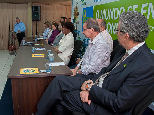 Abertura da Conferência nesta manhã<br />Foto: Marcelo Calazans