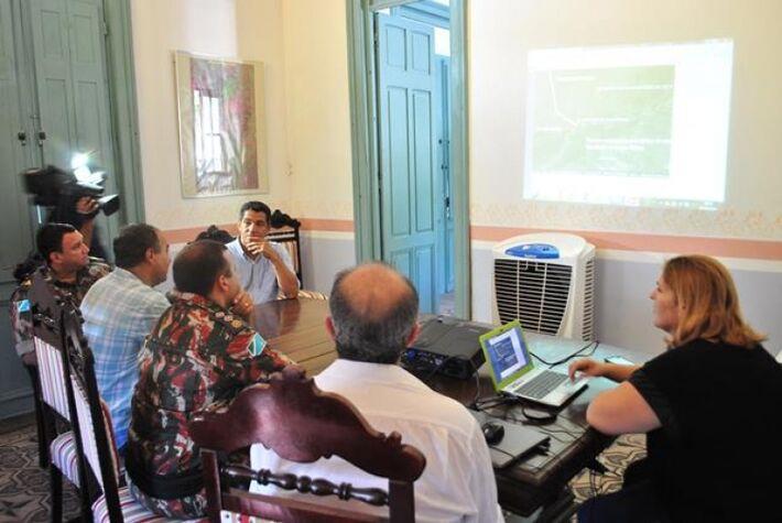 Rede de Proteção e Conservação da Serra do Amolar se reuniu para discutir medidas<br />Foto: Assessoria