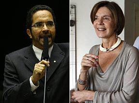 Mauricio Rands e Neca Stúbal<br />Foto: Estadão