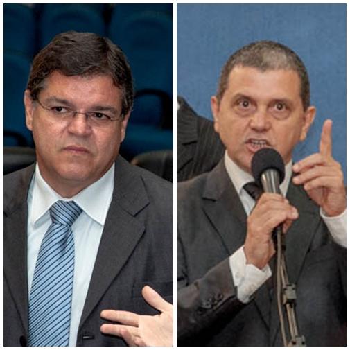 Vereadores Paulo Pedra (PDT) e João Rocha (PSDB)<br />Foto: Arquivo