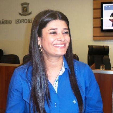Vereadora Rose Modesto autora do projeto<br />Foto: Tayná Biazus
