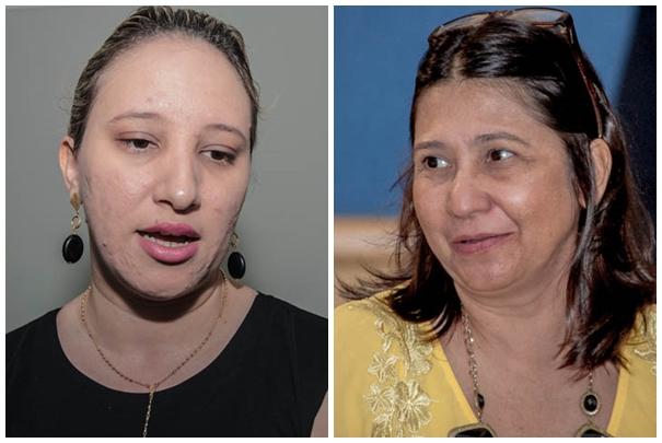 Vereadoras Thaís Helena (PT) e Luiza Ribeiro (PPS)<br />Foto: Arquivo