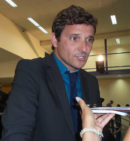 Vereador Eduardo Romero (PT do B)<br />Foto: Tayná Biazus