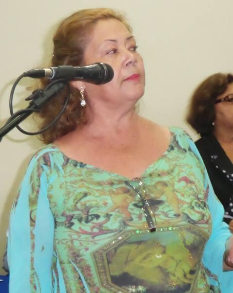 Matilde Mendonça Gama de Freitas, presidente do bairro Vespasiano Martins<br />Foto: Tayná Biazus