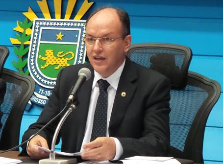 Deputado estadual, Junior Mochi (PMDB)<br />Foto: Tayná Biazus
