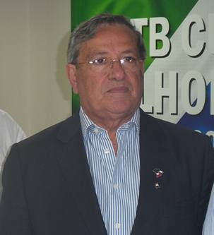 Presidente nacional do PTB, Benito Gama<br />Foto: Tayná Biazus