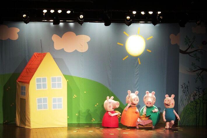 Peppa Pig e o Porquinho Mau, realização Pedro Silva Promoções<br />Foto: Heloísa Lazarini