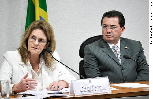 Presidente da Petrobras Graça Foster