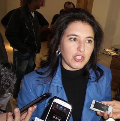 Vice-governadora e pré-candidata do Senado, Simone Tebet (PMDB) - Foto: Dany Nascimento