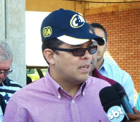 Prefeito de Campo Grande, Gilmar Olarte (PP)<br />Foto: Tayná Biazus