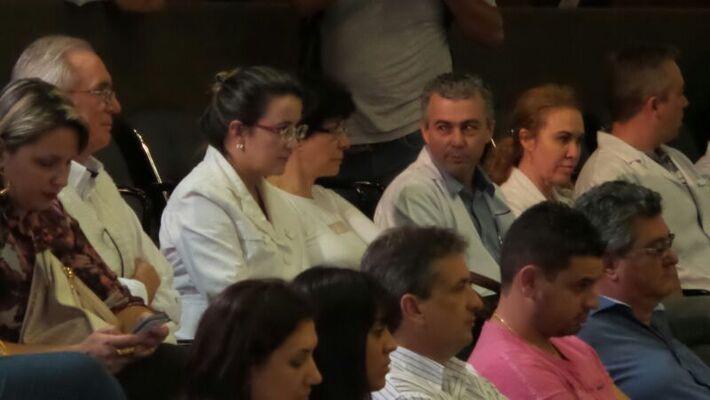 Em destaque, 1ª secretária do CRM-MS Rosana Leite de Melo<br />Foto: Dany Nascimento