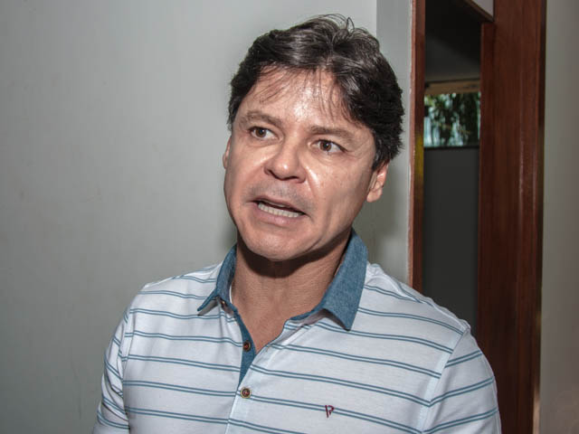 Prefeito de Corumbá e presidente regional do PT, Paulo Duarte<br />Foto: Arquivo