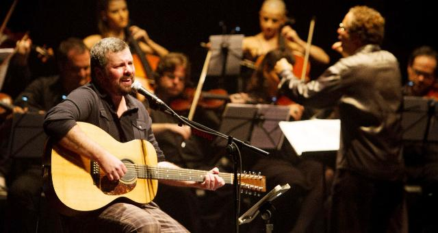 Emmerson Nogueira e banda<br />Foto: divulgação