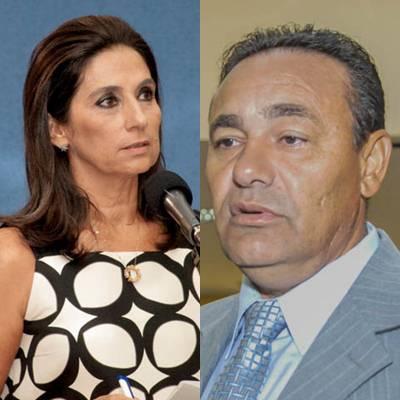 Vereadores Carla Stephanini (PMDB) e Carlão (PSB) autores do projeto<br />Foto: arquivo