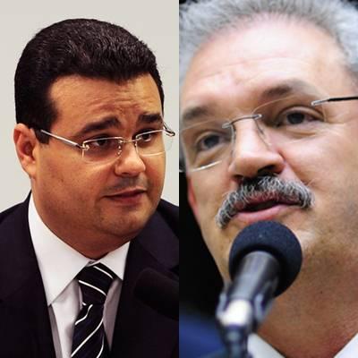 Deputados federais do PMDB, Fabio Trad e Geraldo Resende