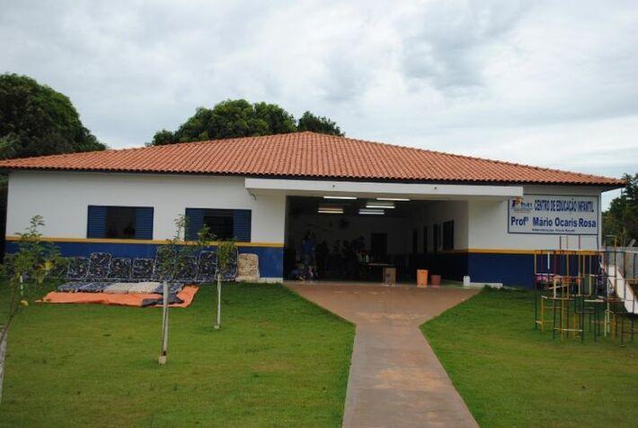 Centro de Educação Infantil, Mario Ocaris<br />Foto: Divulgação