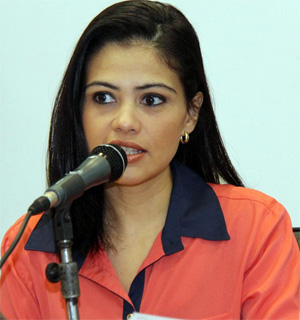 Vereadora Grazielle Machado (PR)<br />Foto: Divulgação