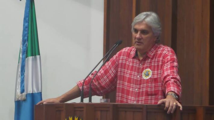 Pré-candidato do PT ao governo do Estado Delcídio do Amaral