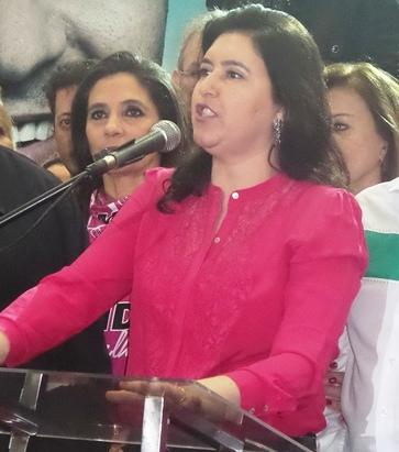 Candidata ao senado, Simone Tebet (PMDB)<br />Foto: Arquivo