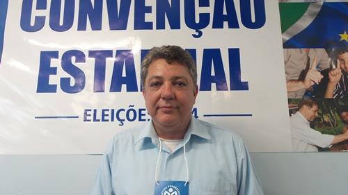 Candidato ao governo do Estado, Evander Vendramini (PP) - Foto: Dany Nascimento
