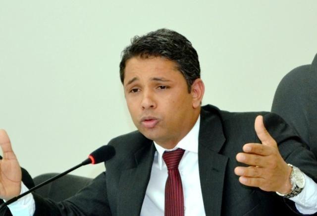 Presidente da Câmara de Vereadores de Naviraí Cicinho do PT<br />Foto: arquivo