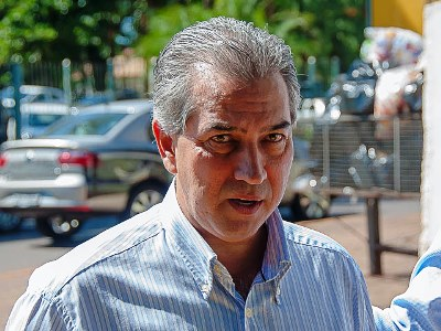 O Pré--candidato ao governo do Estado, Reinaldo Azambuja (PSDB) - Foto: Arquivo
