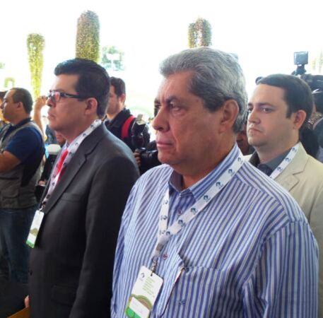 Prefeito de Campo Grande Gilmar Olarte (PP) e governador do Estado André Puccinelli (PMDB)<br />Foto: arquivo