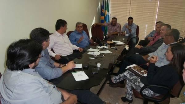 Reunião no diretório regional do PMDB.<br />Foto: Dany Nascimento