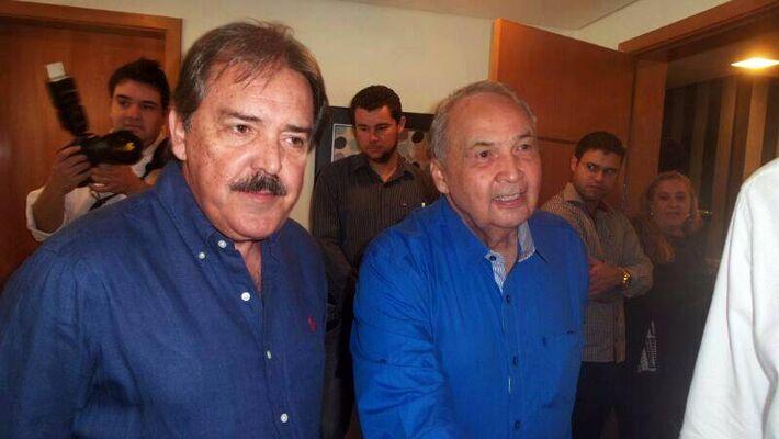 Deputado estadual Carlo Arroyo e deputado estadual Londres Machado<br />Foto: Dany Nascimento