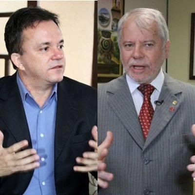 Deputados federais petistas, Vander Loubet e Antônio Biffi<br />Foto: Divulgação