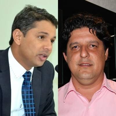 Vereador Cicinho do PT e prefeito de Naivraí Léo Matos (PV)<br />Foto: arquivo