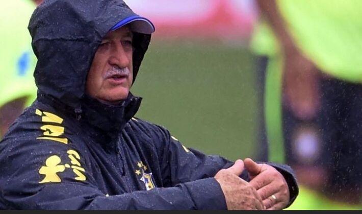 Técnico da Seleção Brasileira, Felipão<br />Foto: Agência UOL