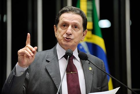 Senador Mozarildo Cavalcanti (PTB-RR)<br />Foto: Divulgação