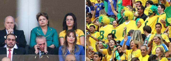 , Dilma apareceu com 38% das intenções de voto, enquanto seus principais adversários oscilaram positivamente. O senador Aécio Neves, presidenciável pelo PSDB, subiu de 20% para 22%, enquanto Eduardo Campos, pré-candidato pelo PSB, de 11% para 13%.  O Ib