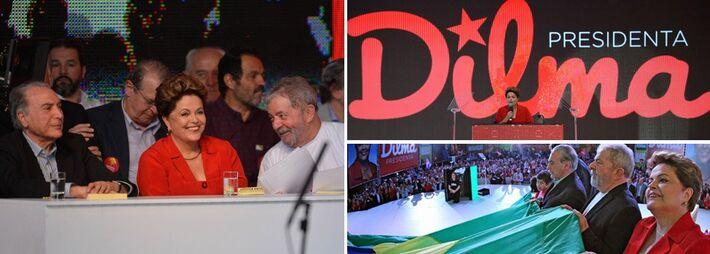 """</p> <p style=""""text-align: justify;"""">A presidente Dilma Rousseff (PT) apresentou neste ontem a sua plataforma de governo para um segundo mandato, caso seja reeleita. Durante a Convenção do PT que a oficializou novamente como candidata, a petista falou pe"""