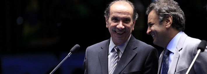 O senador Aloysio Nunes (PSDB-SP) deverá ser anunciado nesta segunda-feira como o vice da chapa do tucano Aécio Neves à Presidência. O senador mineiro bateu o martelo na noite de ontem, após meses de especulações. O governador de São Paulo, Geraldo Al