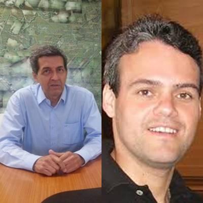 Secretário interino da Semadur João Alberto Borges dos Santos e procurador geral do município Fábio Castro Leandro