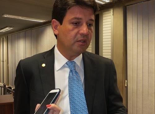 Deputado federal e presidente regional do DEM , Luiz Henrique Mandetta - Foto: Dany Nascimento