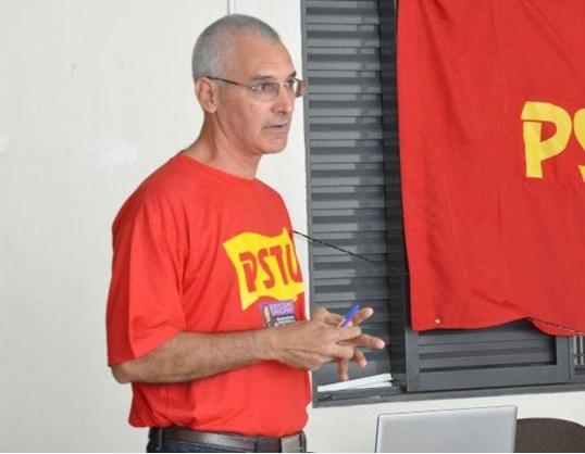Professor Monge, candidato a governador pelo PSTU - Foto: Divulgação