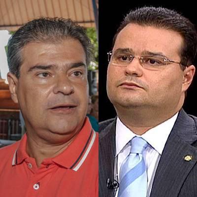 Pré-candidato do PMDB ao governo do Estado Nelson Trad e deputado federal Fabio Trad (PMDB)<br />Foto: arquivo