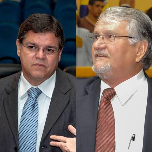 Vereador Paulo Pedra (PDT) e Zeca do PT<br />Foto: Arquivo