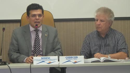Prefeito de Campo Grande, Gilmar Olarte (PP) e Edil Albuquerque, secretário da Sedesc - Foto: Dany Nascimento