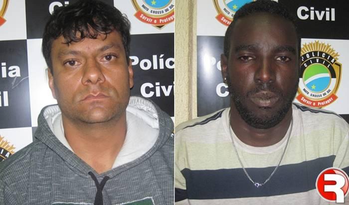 Jalon Marcos e Wesley Henrique Ferreira