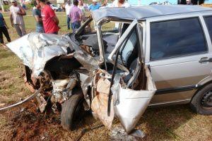 """</p> <p style=""""text-align: justify;"""">Alisson Henrique da Silva Câmara, 32, morreu no final da tarde de quinta-feira no Hospital da Vida em Dourados, horas depois de se envolver em um acidente envolvendo o Fiat Uno em que conduzia e um caminhão de distrib"""