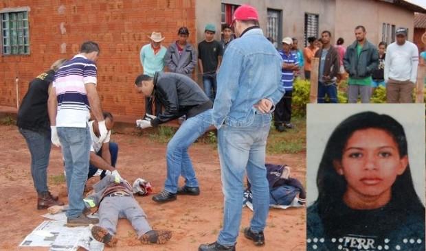 A vítima foi assassinada com quatro golpes de faca, no percurso para seu trabalho<br />Foto: Sucrilho/Ivinoticias