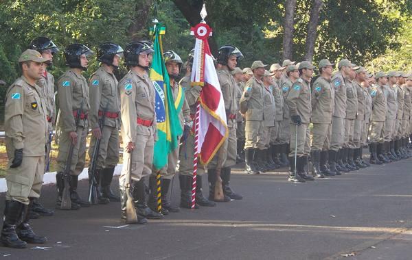 Bombeiros Militares participam do evento<br />Foto: Tayná Biazus