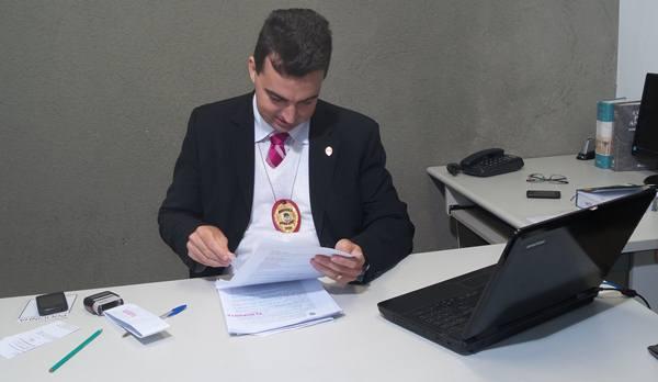 Delegado Camilo Kettenhumber Cavalheiro<br />Foto: Tayná Biazus