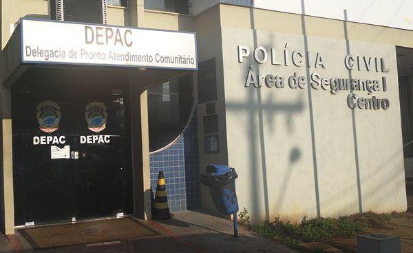 Prédio Depac Centro, em Campo Grande<br />Foto: Divulgação PC