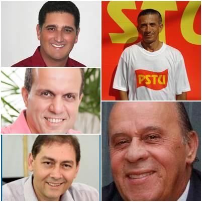 Candidatos ao Senado Federal<br />Foto: Divulgação